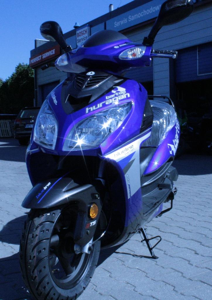 Barton Huragan 50 Czesci Do Skuterow I Motocykli