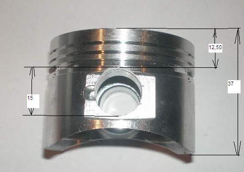 Zestaw Cylinder Tlok Pierscienie Silnika 4suw 125cm